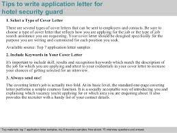 Security Guard Job Description For Resume by Application Letter For Security Job