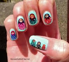 nail art russian style nail art by liliya sereditskaya tropical