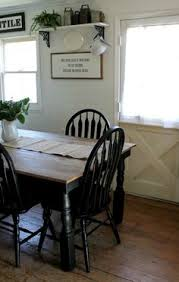 Farm House Kitchen Table by Farmhouse Style Painted Kitchen Table And Chairs Makeover
