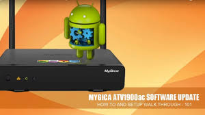 mygica atv1900ac manual software update youtube