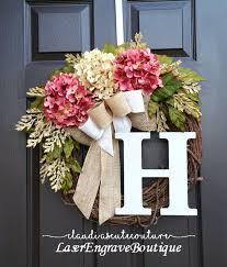 front door wreath diy ideas for january fall wreaths