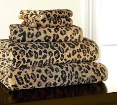 Leopard Bathroom Rugs Bathroom Entrancing Picture Of Rectangular Brown Leopard Print 37