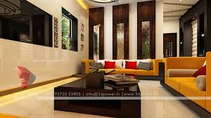 Modern Living Room Interior Interior Design D Rendering D Power - Drawing room interior design ideas