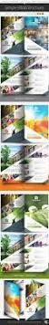 health medical care bifold brochure template brochure template