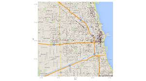 Chicago On The Map by Chicago Crime In R Alan Zablocki