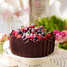 cake decoration at home ideas chocolate and fruit decoration cake decoration good housekeeping