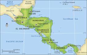 america map guatemala guatemala el salvador and honduras propose joint energy and