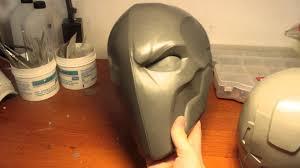 deathstroke costume halloween deathstroke costume mask raw cast part iii youtube