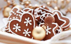 chocolate christmas cookies christmas fondos de pantallas