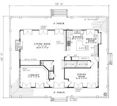 colonial house floor plans house plan 62012 order code 26web at familyhomeplans