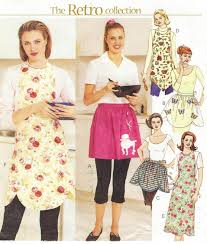 Womens Aprons Womens Aprons The Retro Collection Full And Half Aprons Oop