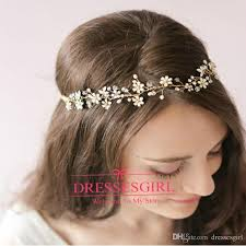hair jewellery 2015 gold hair bands tiaras for wedding jewellery