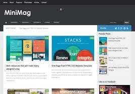 mini mag mega menu blogger template u2022 blogspot templates 2018