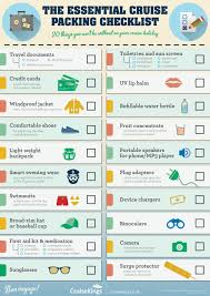 College Toiletries Checklist The Ultimate Cruise Packing List What To Pack For A Cruise