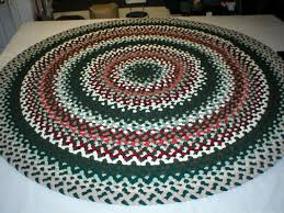Round Woven Rugs Handmade Braided Rugs By Marge 8 U0027 Round Braided Dining Room Rug