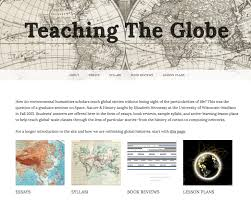 global visions rethinking the globe and how we teach it edge