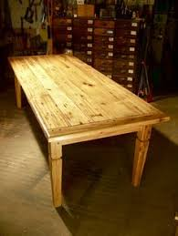Barn Wood Dining Room Table Antique Wormy Chestnut Dining Table Reclaimed Wood Table