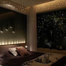 Glow In The Dark Star Ceiling by Glow In The Dark Star Wall Stickers 252 Dots And Moon Starry Sky