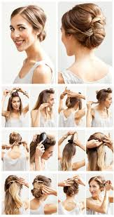 cute quick hairstyles for medium length hair 18 best cute hairstyles images on pinterest chignons hair and