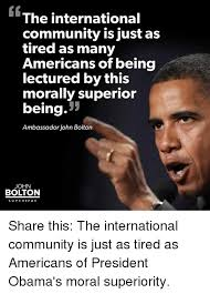 Community Memes - the international community is just as tired as many americans of
