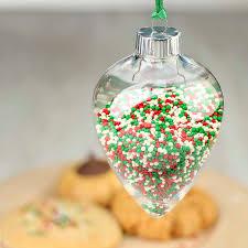 clear acrylic ornament acrylic fillable ornaments