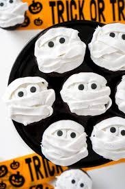 halloween mummy halloween cupcakes recipe walmart