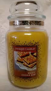 yankee candle magic cookie bar large jar 22 oz limited scent ebay