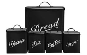 enamel kitchen canisters canister set for kitchen mada privat