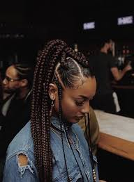 grey and purple combined together style box breads 60 totally chic and colorful box braids hairstyles to wear