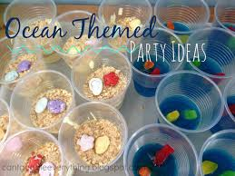 ideas for a ocean themed party u2013 your cool party photo