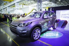 land rover purple jaguar land rover will kick off brazilian production with