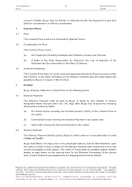 acla lovells contract template sales contract