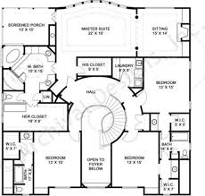 Best Selling Home Plans by Serrantae Neoclassic House Plan 4000 Sq Ft House Plans