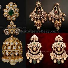 pachi earrings pachi work chandbali earrings indian jewelry ear rings and