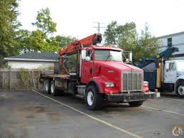 kw t800 for sale pk 22000el steel hauler special 1993 kenworth t800 truck crane for