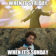Its Sunday Meme - robert downey jr imgflip
