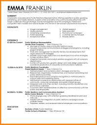 Knock Them Dead Resume 100 Pr Resume Sample Sample Resume Public Relations Image