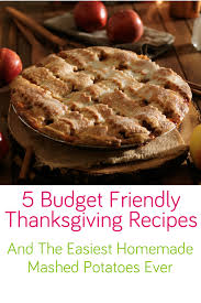 thanksgiving recipes on a budget divascuisine