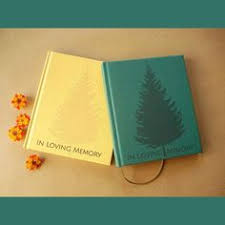guest books for memorial service green budget filigree memory guest book an affordable option for
