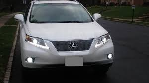 suv lexus 2010 for 2010 2011 2012 lexus rx350 suv led projector chrome headlights
