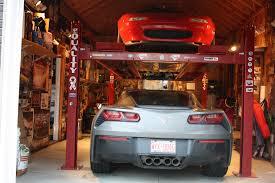 4 post lift for garage corvetteforum chevrolet corvette forum