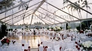 clear wedding tent clear tents pros cons and why waterfront peeps should them