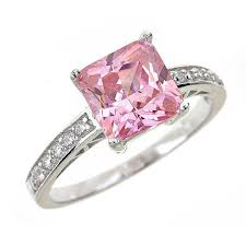 Pink Diamond Wedding Rings by Fake Engagement Rings U0026 Fake Diamond Wedding Ring Jewelry