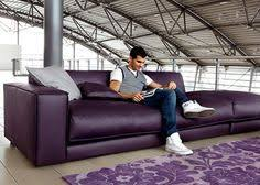 Plum Leather Sofa Purple Furniture Sectionals Leather Sectionals