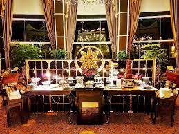 buffet display picture of brasserie les saveurs singapore
