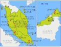 マレーシア:マレーシア地図