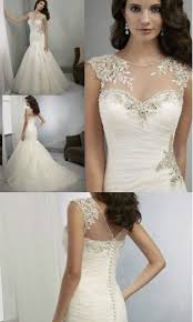 wedding dress covers high quality mermaid shoulder lace cover lace up white ivory