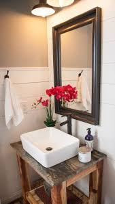 Apron Front Bathroom Vanity by 34 Rustic Bathroom Vanities And Cabinets For A Cozy Touch Digsdigs