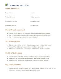 website evaluation report template post project evaluation template