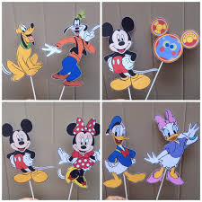 mickey mouse clubhouse centerpieces mickey mouse clubhouse diy centerpiece custom made disney